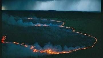 Uno studio ha analizzato la storia della gestione umana del fuoco