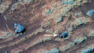 L'atmosfera di Marte era piu' densa in passato