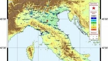 La rottura di una nuova faglia all'origine del terremoto?