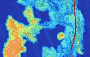 Il primo vulcano sottomarino mappato in alta risoluzione