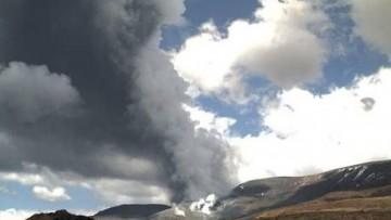 Il Monte Tongariro riprende le attivita' eruttive