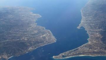 Lo Stretto di Messina e' un crocevia di faglie attive