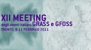 XII Meeting GRASS e GFOSS