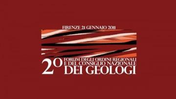 Secondo Forum Nazionale Degli Ordini Regionali e Del Consiglio Nazionale Dei Geologi italiani