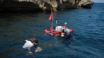 80 km a nuoto per studiare le coste di Malta