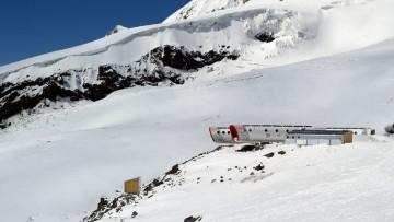 Un rifugio pre-fabbricato per il Monte Elbrus