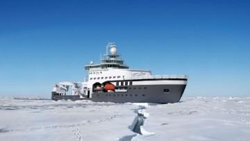 Una rompighiaccio italiana per gli oceanografi norvegesi
