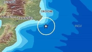Terremoto nel Mar Ionio, le rilevazioni dell'Ingv