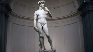 Come si rompe il David di Michelangelo