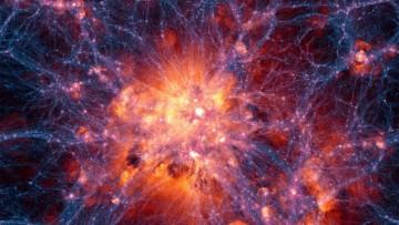 Il modello piu' completo dell'evoluzione dell'universo