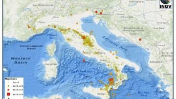 Terremoti in Italia: 65 al giorno a maggio 2014
