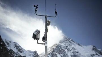 Sul K2 arriva la stazione meteorologica