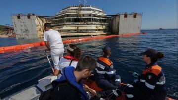 Costa Concordia: i primi dati sulla qualita' delle acque