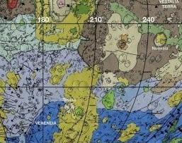 La prima mappa geologica in HD dell'asteroide Vesta