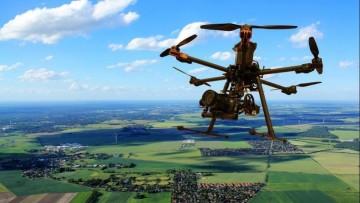I droni scoprono antiche abitazioni etrusche