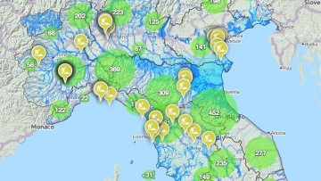 Via ai cantieri 'open data' contro il dissesto idrogeologico