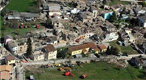 Il sisma che ha distrutto L'Aquila si è originato dalla faglia di Paganica