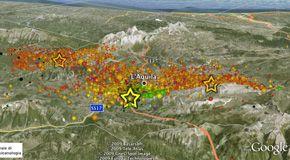 Ingv ha ricostruito la sequenza di eventi del sisma che ha distrutto L'aquila
