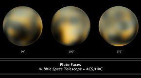 Plutone cambia colore