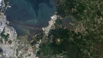 Cile: ecco le immagini satellitari prima e dopo il sisma