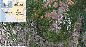 Trovato in Congo un cratere di 46 km causato da un asteroide