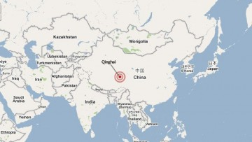 Terremoto di magnitudo 7, 1 in Cina