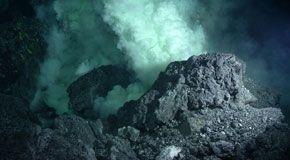 Un vulcano sottomarino nella fossa di Cayman