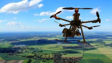 Telerilevamento con droni: verso l'integrazione fotogrammetria-lidar