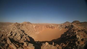 In Egitto scoperto un cratere d'impatto da meteorite