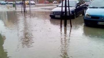 Milano allagata con un temporale