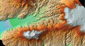 Le spettacolari immagini dell'Etna dallo spazio