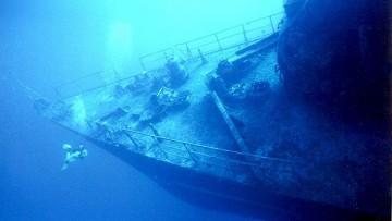 Nel Mediterraneo oltre 350 relitti carichi di petrolio e armi chimiche