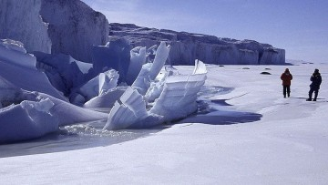 I glaciologi americani sulle Alpi per studiare i cambiamenti climatici