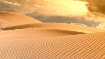 Raddoppiata la quantità di polveri del deserto nell'atmosfera terrestre