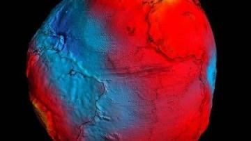 La terra cambia forma? Colpa della gravità