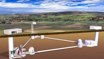 ET: il telescopio sotterraneo ascolterà i suoni dello spazio-tempo