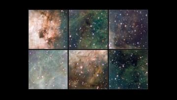 Le prime immagini dal telescopio VST