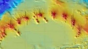 Antartide: scoperti 12 vulcani sottomarini