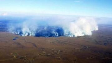 Incendi nella tundra dell'Artico
