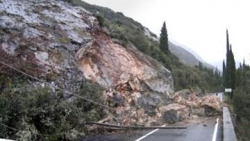 Frane in Italia: il 6,9% del territorio nazionale e' a rischio