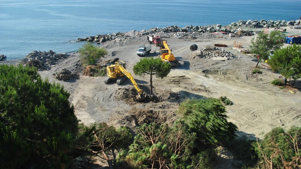 Lavori per la realizzazione della galleria scolmatrice del torrente Bisagno al servizio dei torrenti Fereggiano. Noci e Rovare (fonte: Italiasicura)