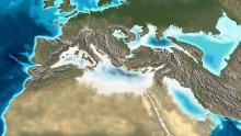 Il prosciugamento del Mediterraneo fu innescato dalla calotta polare antartica