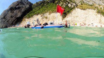 Erosione coste del Mediterraneo: il progetto Geoswim parte dal Conero