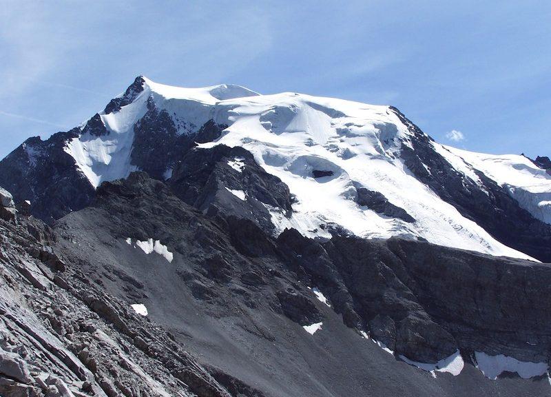 Il Monte Ortles (3905 m) in Alto Adige dal quale sono state estratte nel 2011 le carote di ghiaccio (Foto Paolo Gabrielli)