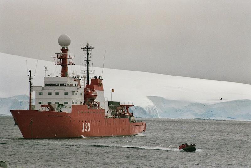 ghiaccio marino 3 nave